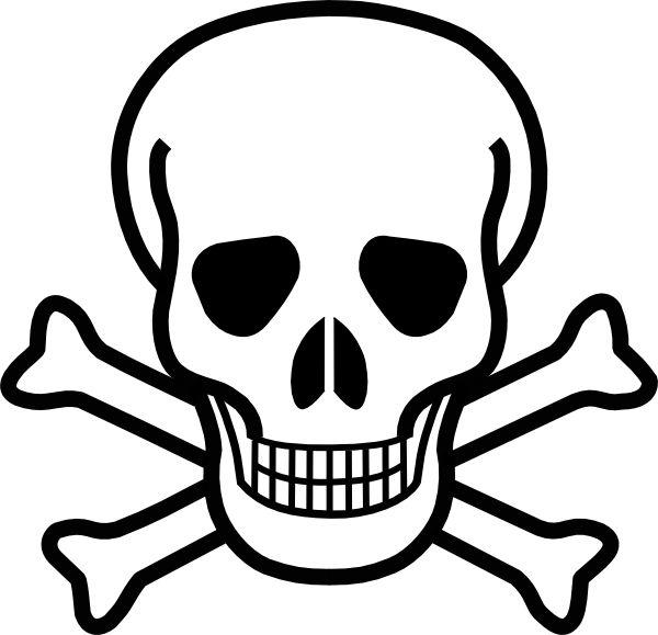 600x579 Dead Clipart Halloween Skull