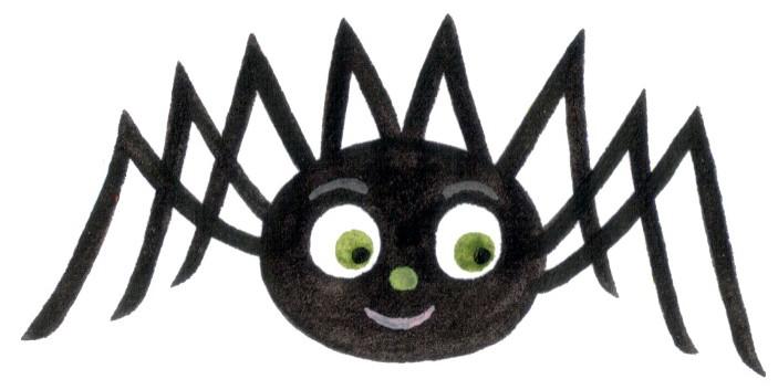 703x353 Spider Clipart