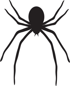 245x300 Black Widow Clipart Halloween Spider
