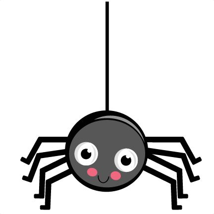 432x432 Cute Spiders And Insect Clipart