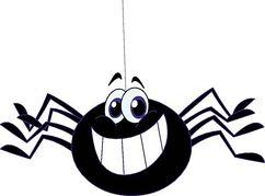 242x179 Clipart Spider