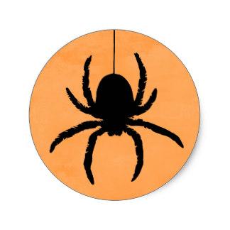 324x324 Halloween Spider Stickers Zazzle