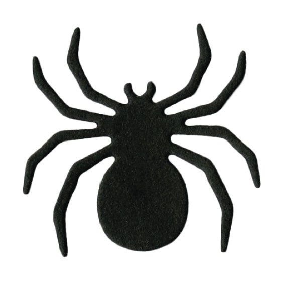 564x564 Halloween Spider Template