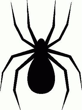 276x369 Autumn Spider Clipart