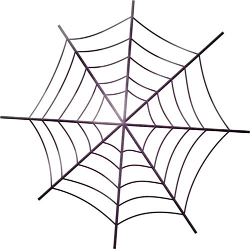 Halloween Spider Web Clipart