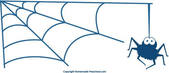 577x251 Corner Spider Web Clip Art Images