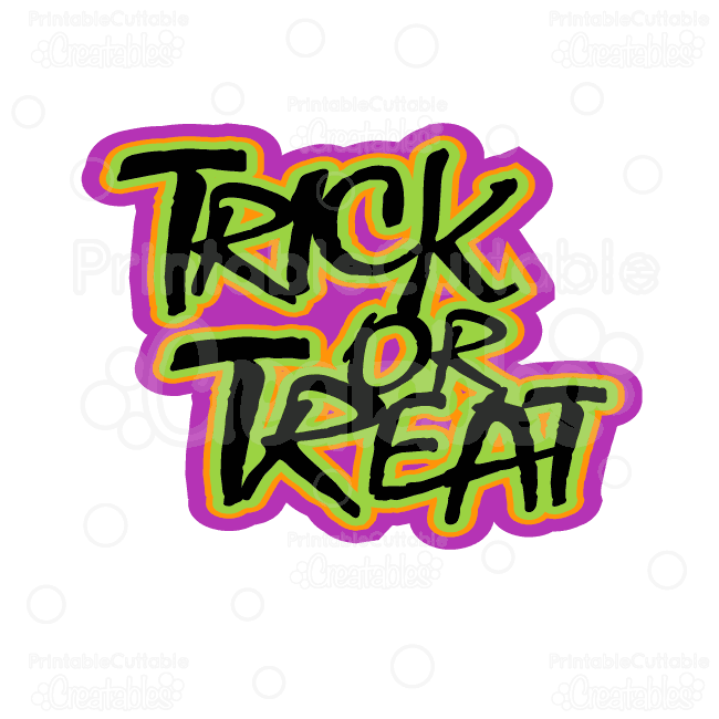 650x650 Halloween Treats Digital Cut Files Scrap Kit
