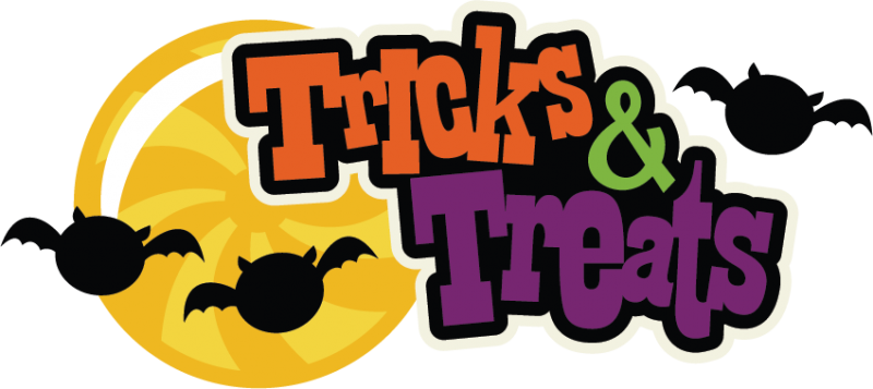 800x357 Tricks Amp Treats Svg Scrapbook Title Halloween Svg Scrapbook Title