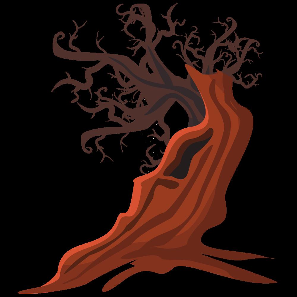1000x1000 Free Dead Tree Clip Art