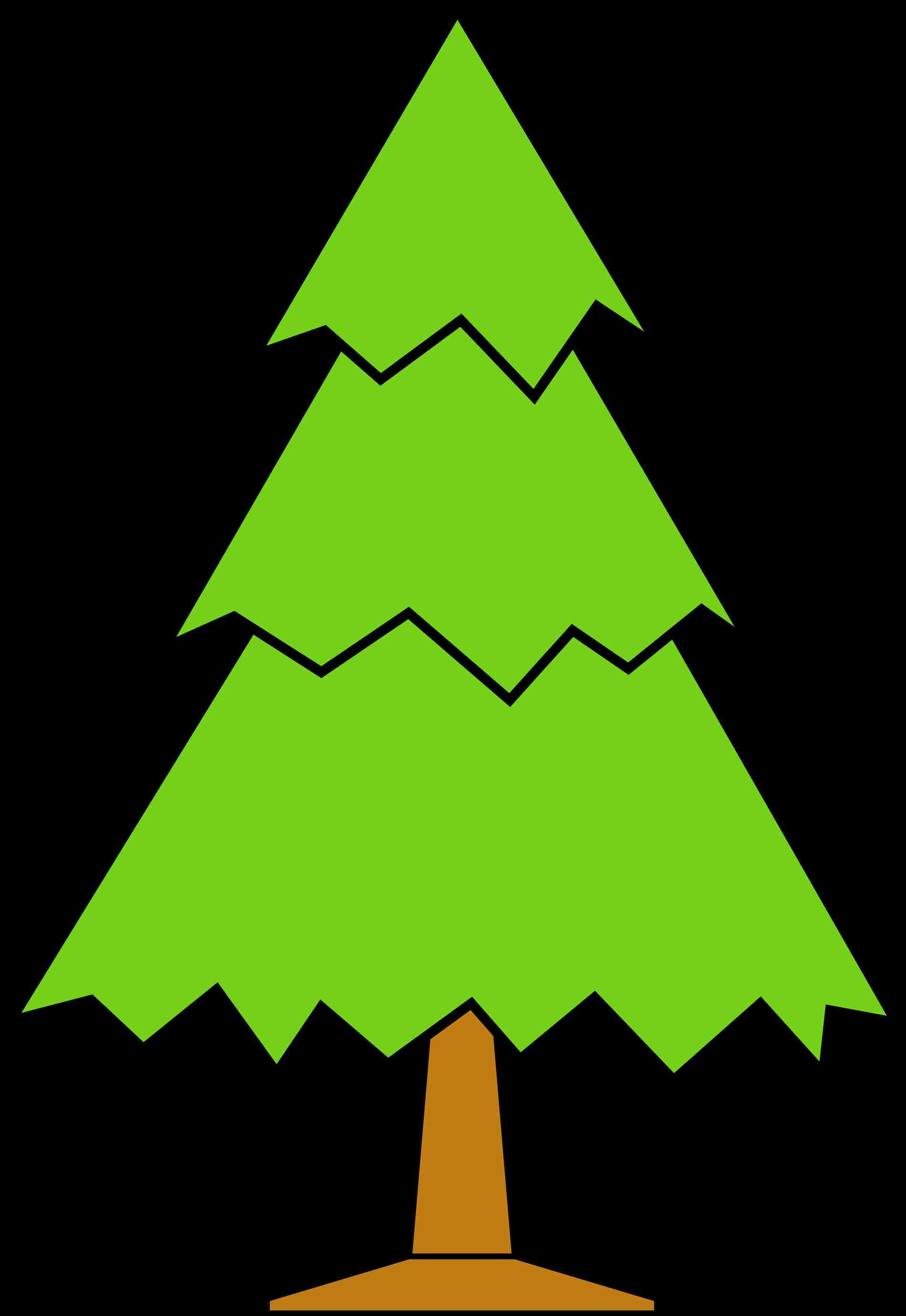 1900x2761 Green Christmas Tree Clipart cheminee.website