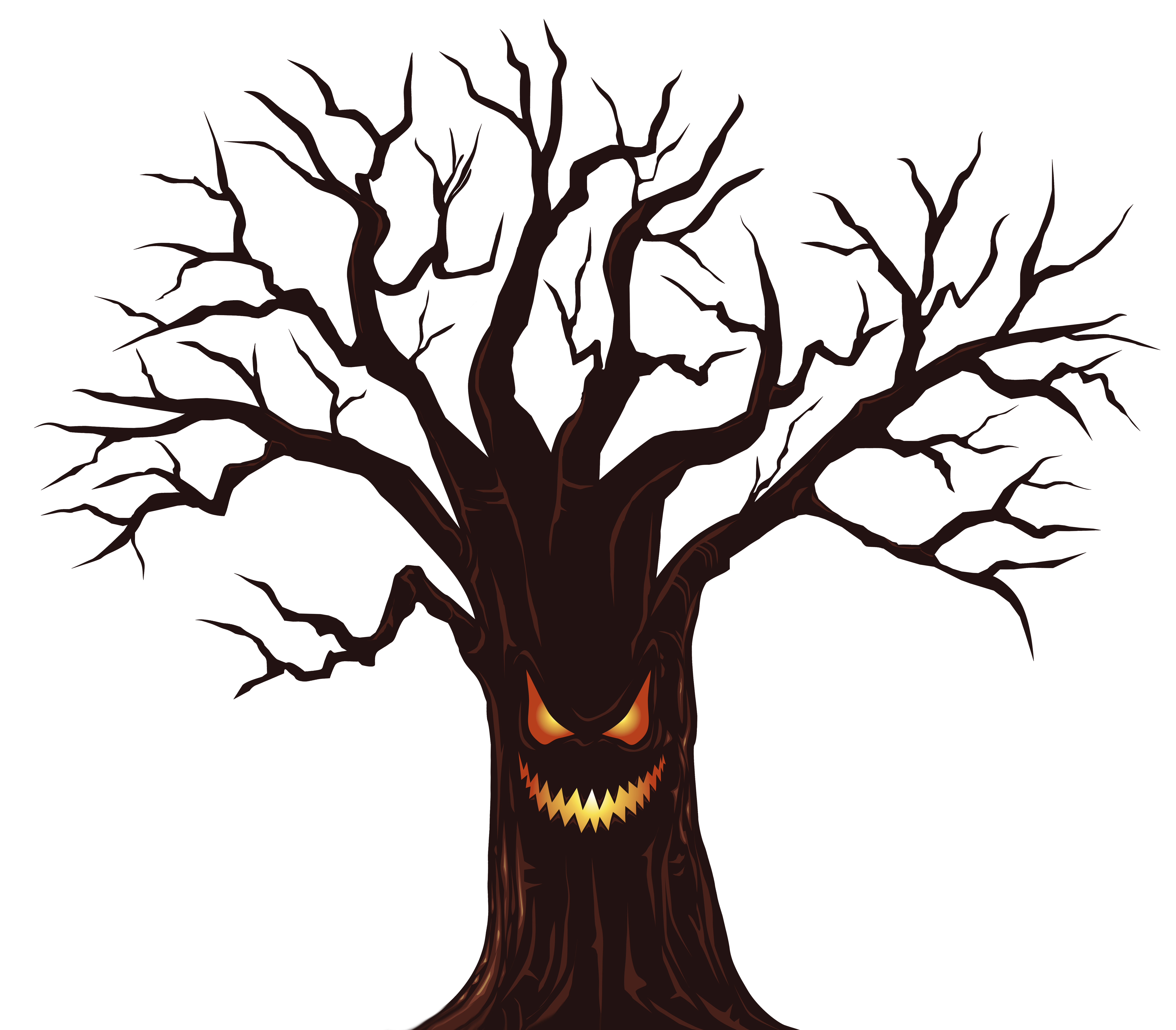 6296x5513 Halloween Spooky Tree PNG Clipart Imageu200b Gallery Yopriceville