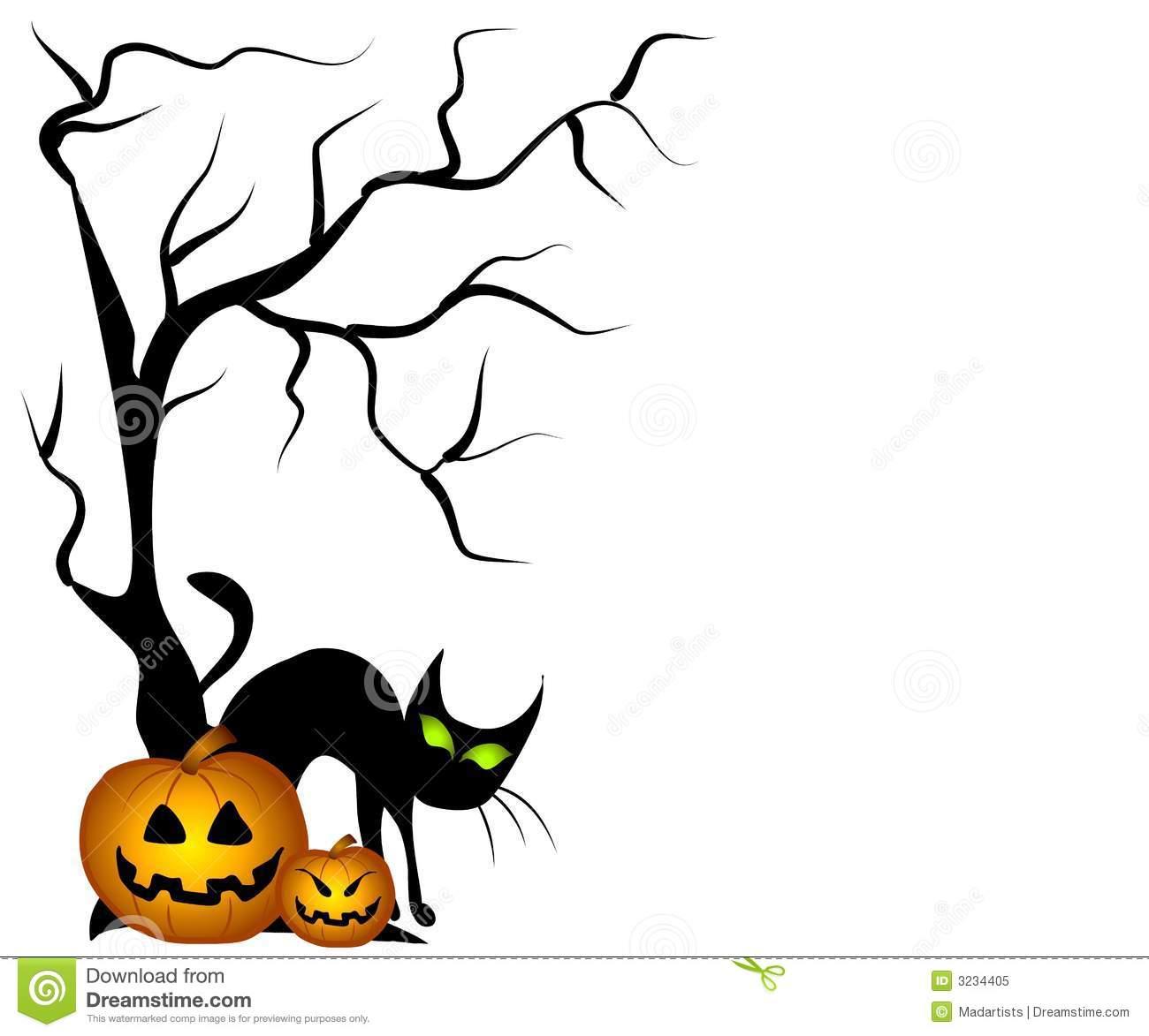 1300x1173 Halloween Tree Clipart Clipart Panda