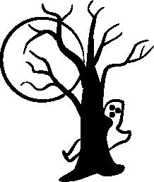 218x257 Halloween Trees Clip Art