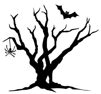 400x371 Spooky Clip Art