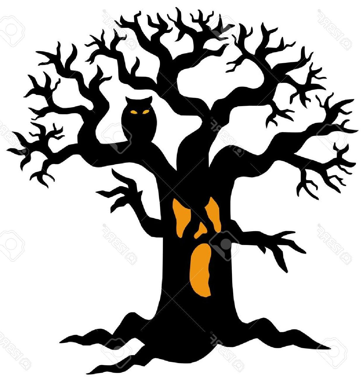 1241x1300 Top 10 Tree Silhouette Halloween Pictures