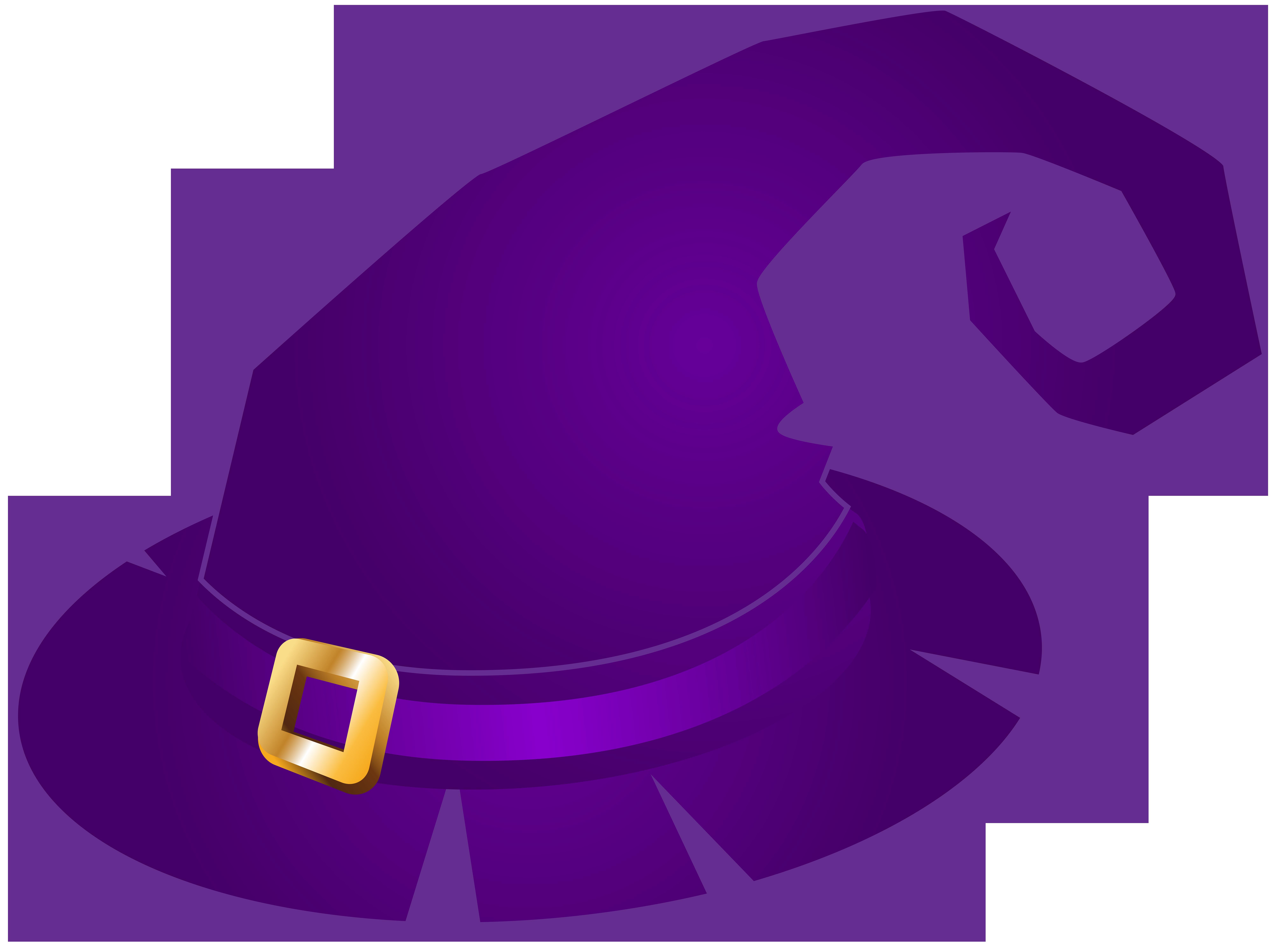8000x5981 Purple Witch Hat Transparent Png Clip Art Imageu200b Gallery