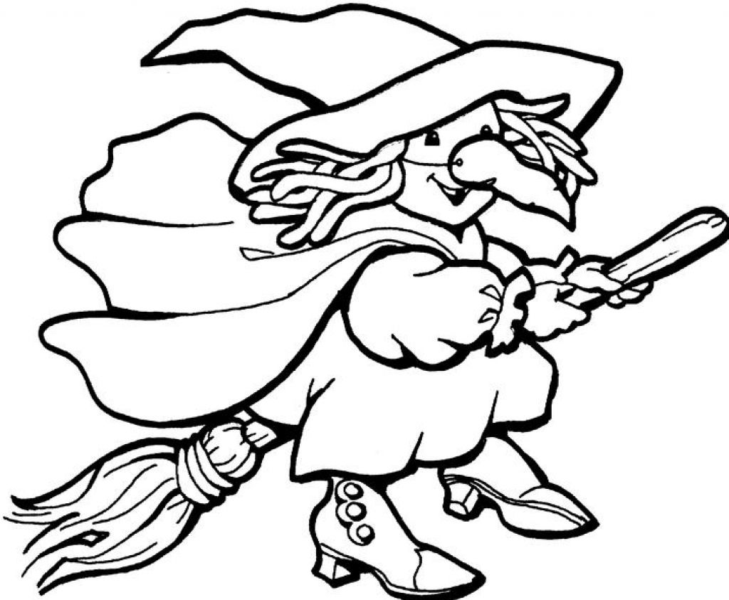 1024x843 Download Coloring Pages. Halloween Witches Coloring Pages