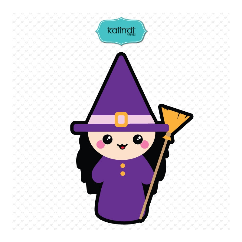 800x800 Witch Svg, Halloween Svg, Halloween Svg File, Halloween Kawaii,
