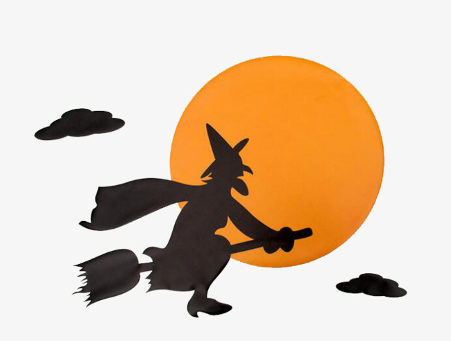 650x492 Halloween Witch, Halloween, Witch, Moon Png Image For Free Download