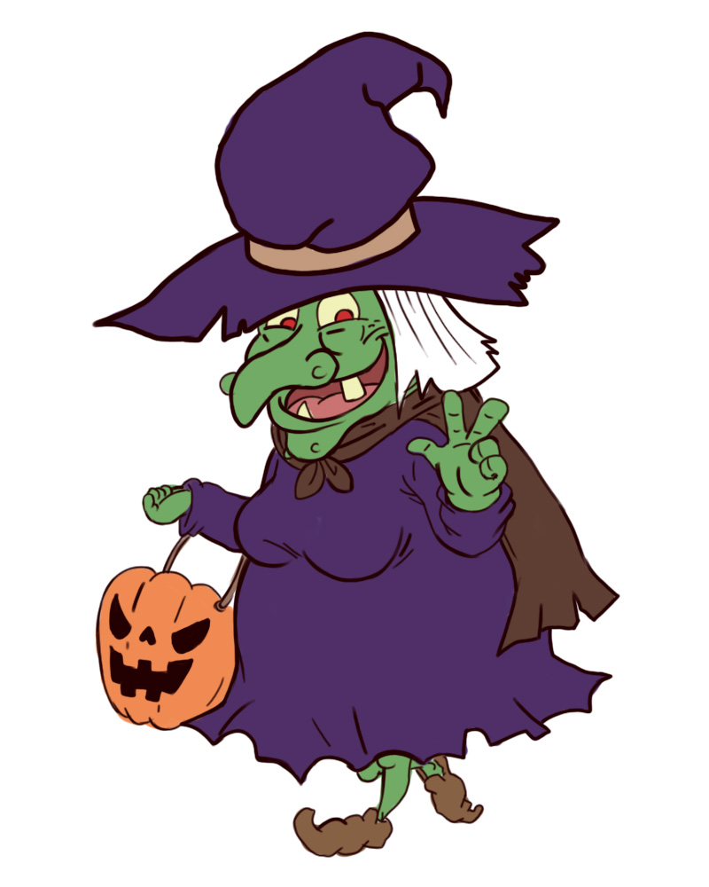 800x1000 Photo Gallery Halloween Witches Happy Holidays!