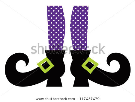 450x342 Cute Halloween Witch Clipart