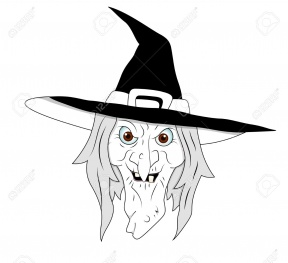 288x263 Witch Live Clipart