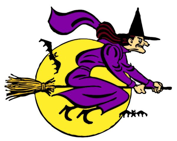 Halloween Witches Images Clipart