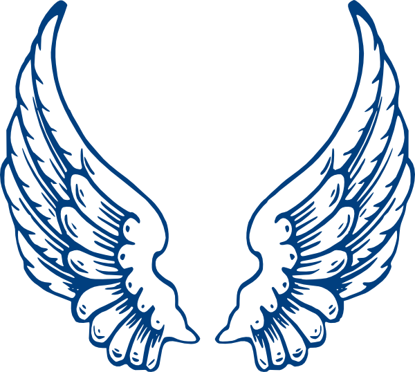 600x538 Halo And Angel Wing Clipart