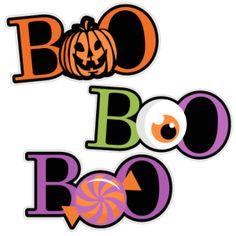 236x236 Fun Month Of October Halloween Scene Clip Art Calendar Topper