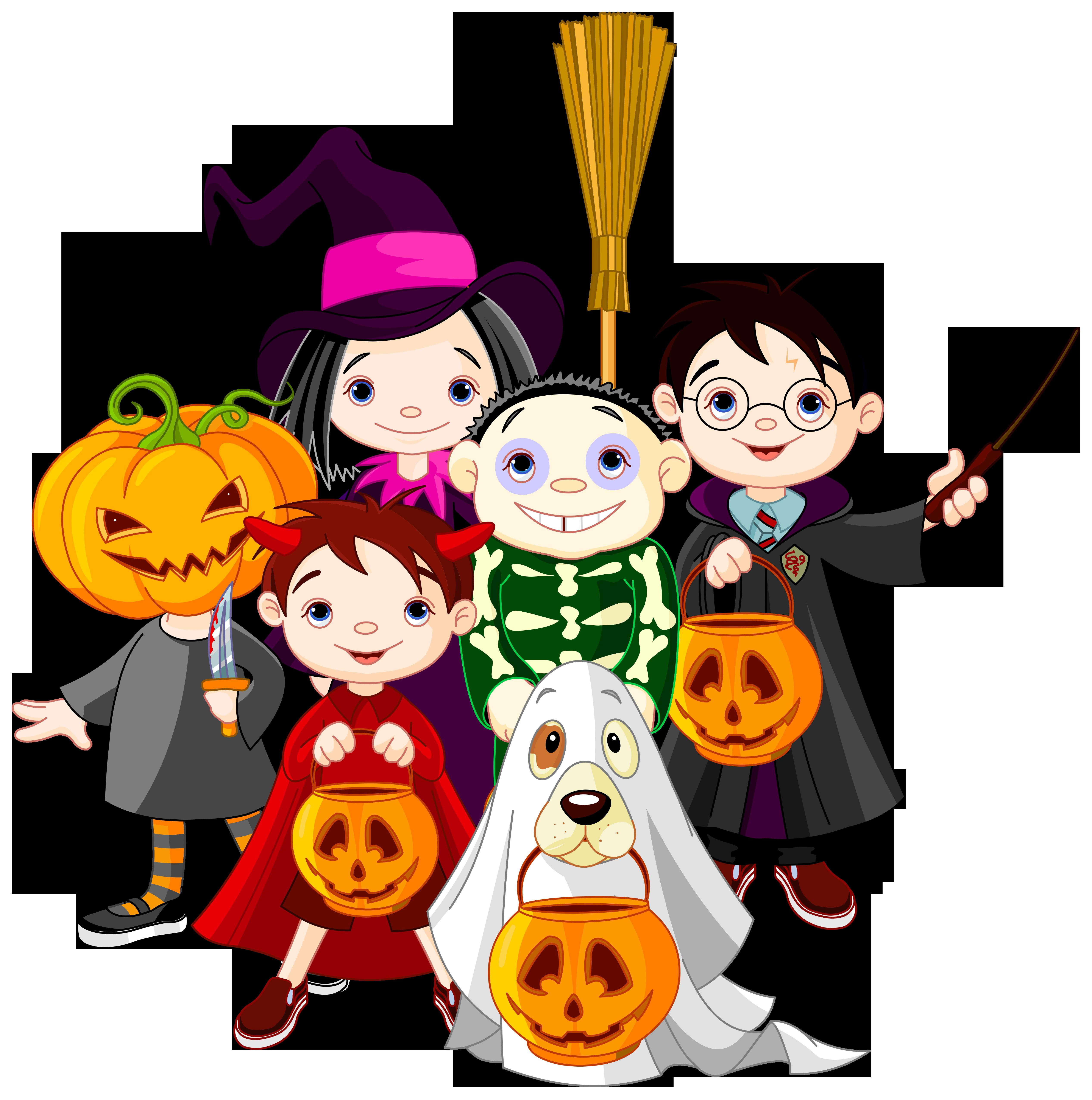 5068x5108 Clip Art Halloween Photo Album