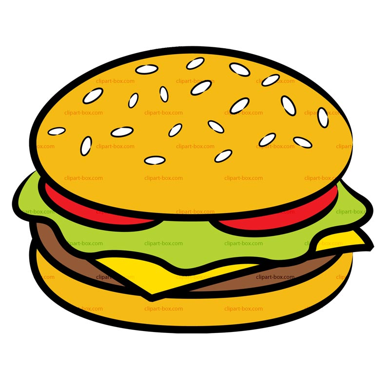 800x800 Hot Dog Clipart Plain Burger