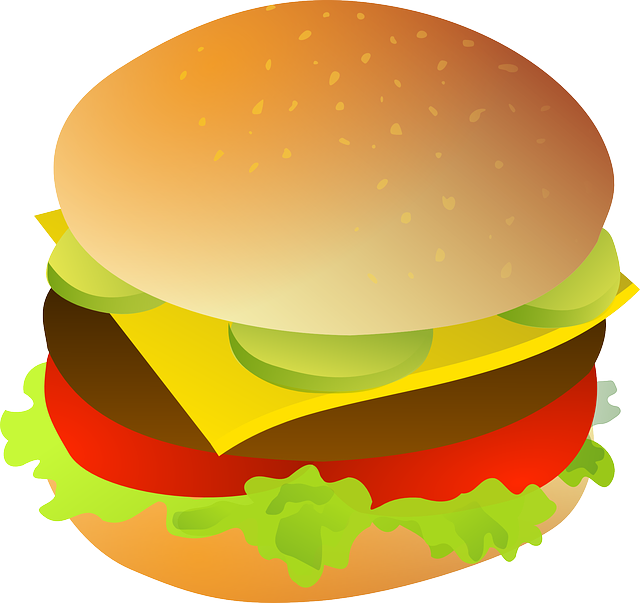 640x603 Burger Clipart Hotdog Hamburger