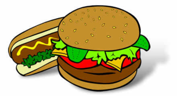 600x326 Burger Clipart Hotdog Hamburger