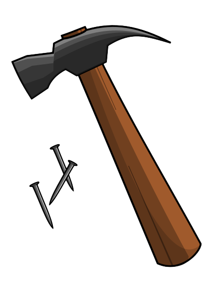 455x577 Hammer And Nails Free To Use Public Domain Hammer Clip Art
