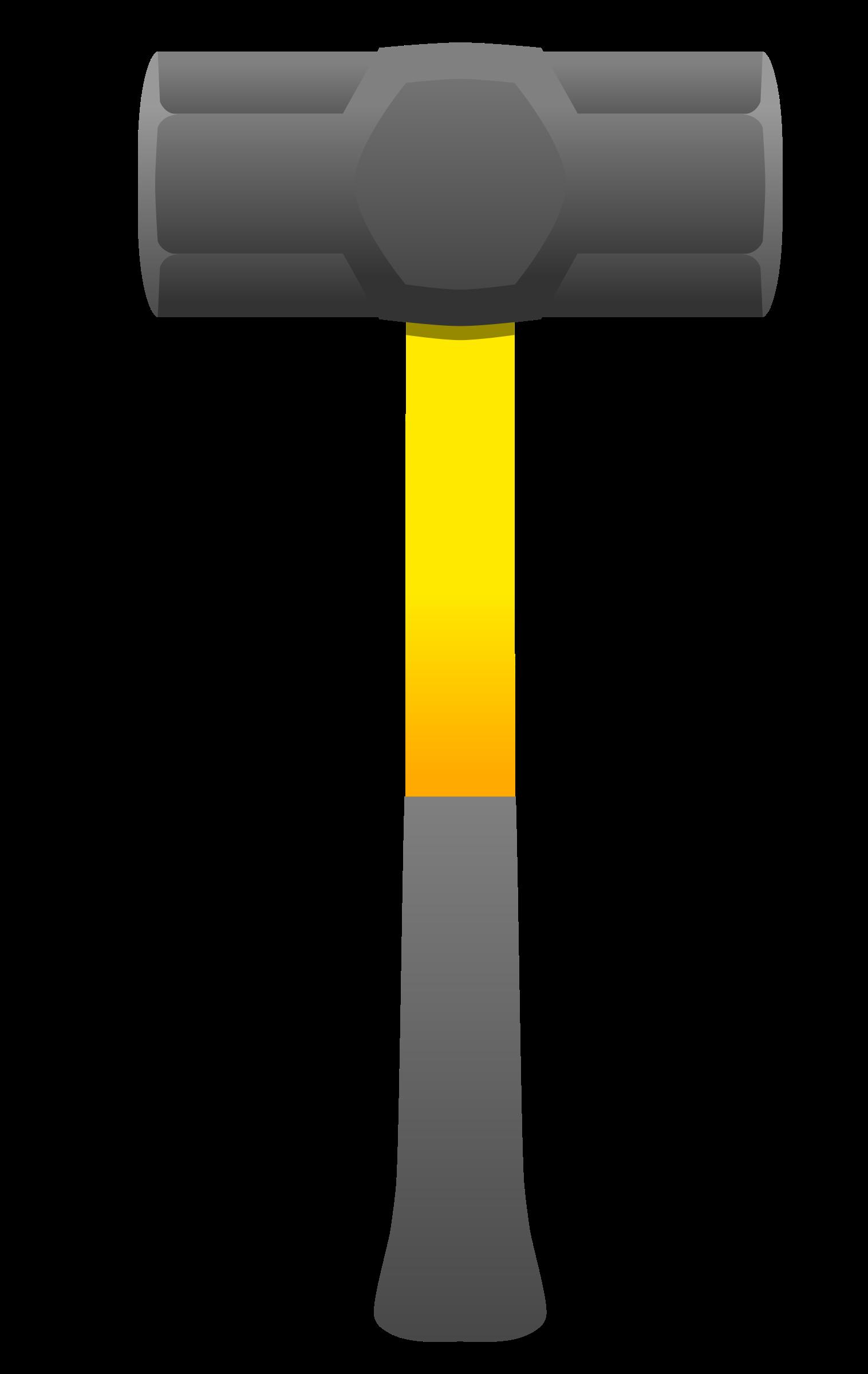 1516x2400 Sledge Hammer Clipart