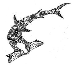 236x209 Hammerhead Shark Tattoo Polinesian Tattoo 4 Me Nature