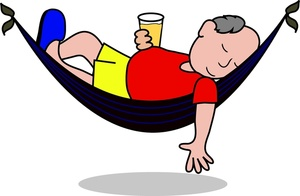 300x196 Free Man In Hammock Clipart Image 0515 1005 1301 2423 Computer