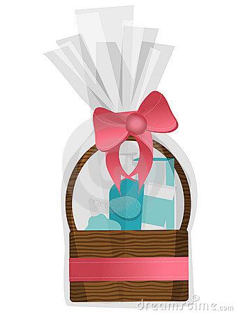 338x450 Basket Clipart Gift Hamper