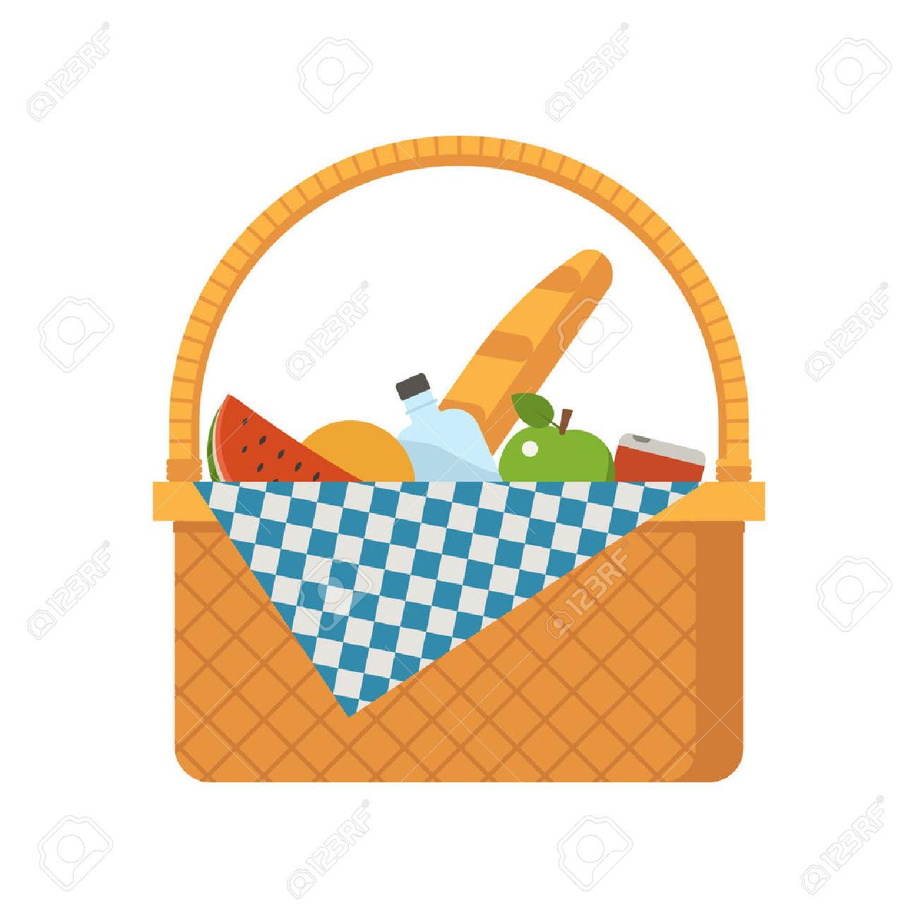 1300x1300 Picnic Basket Clipart Food Hamper