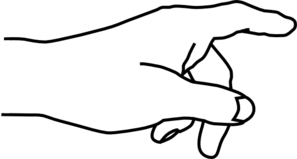 297x159 Hands Clipart Black And White Clipart Panda