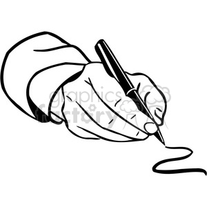 300x300 Writing Hand Clipart Black And White