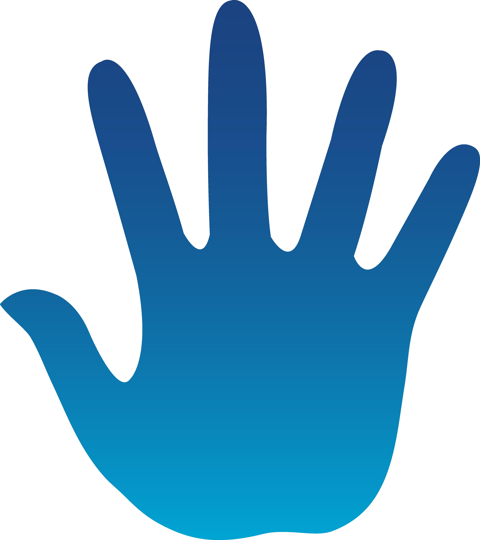 4479x5039 Blue Hand Print
