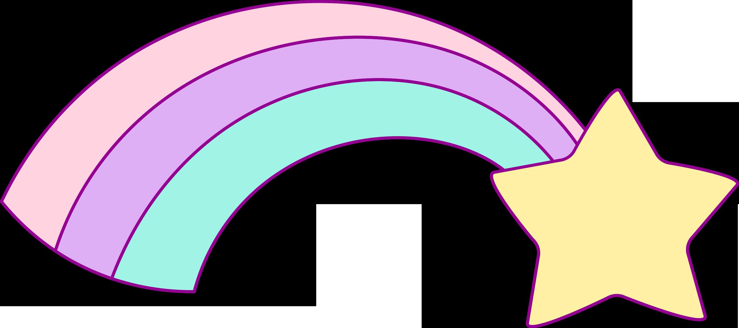 2580x1144 Free Hand Drawn Unicorn Clip Art