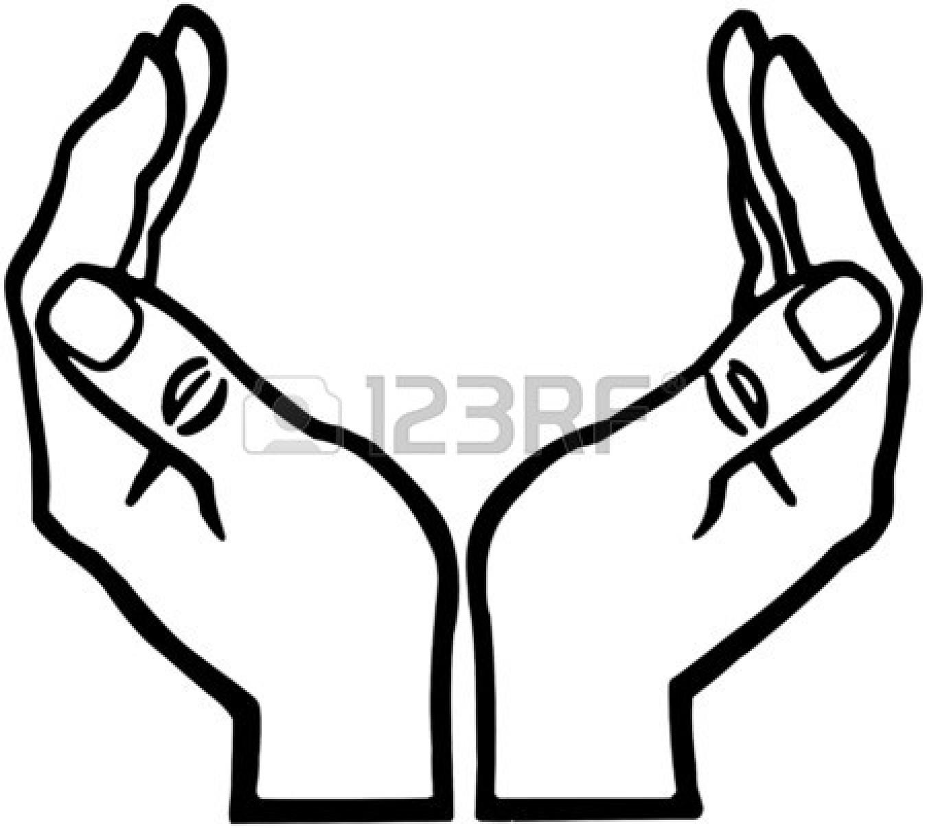 1350x1206 Open Hands Clipart
