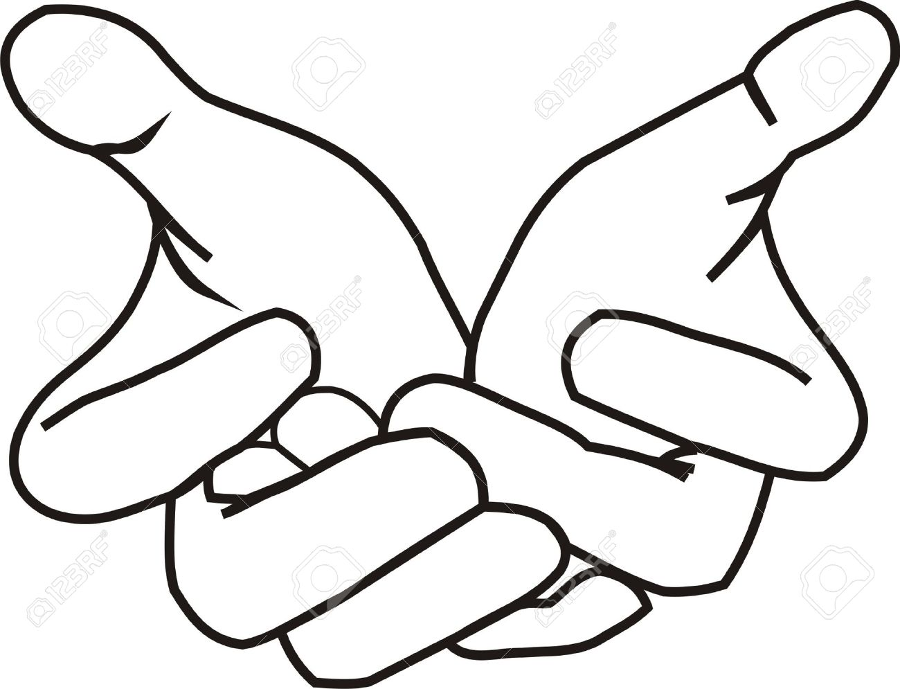 1300x995 Giving Hands Clipart
