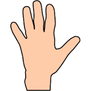 300x300 Hand 1 Clipart, Cliparts Of Hand 1 Free Download (Wmf, Eps, Emf