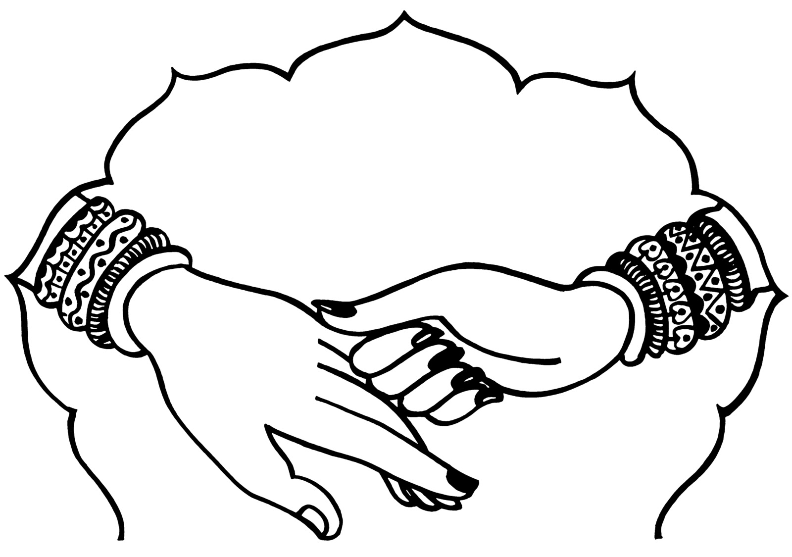 1600x1125 Bride Clipart Indian Welcome
