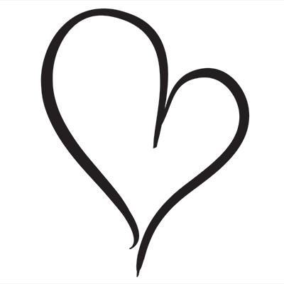 400x400 Funky Clipart Drawn Heart