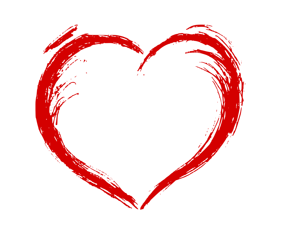 1000x786 Hand Drawn Heart (Eps, Svg, Png)