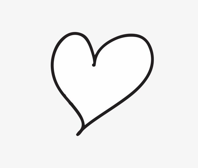 650x551 Hand Drawn Heart Shaped Vector, Beautiful, Heart Shaped, Hand